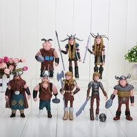 8pcs/set How to Train Your Dragon 2 Figurines PVC Action Figures Classic Toys Kids Gift For Boys Girls Children