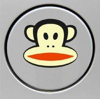 Free Shipping Lovely Car Stickers, Monkey Car Decal ,Big Mouth Waterproof On Rear Windshield Door Tank Lid Sticker