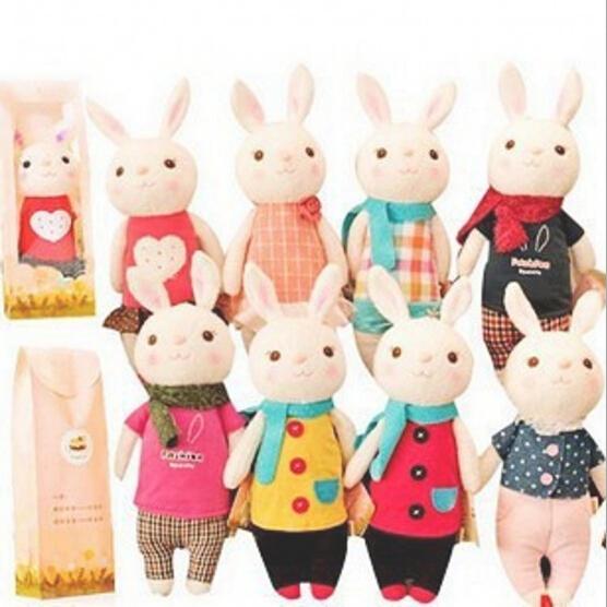 35CM Free Shipping Stuffed Dolls Angela Tiramisu Rabbit Lovely Metoo Rabbits Girls Gift Plush Toys P106(China (Mainland))