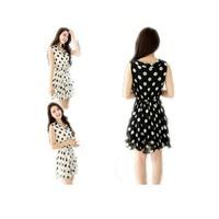 Summer 2014 new Chiffon Dress Korean wave sleeveless vest slim lace dress cloth012