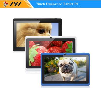 В продаже низкая цена многоцветный 7 дюймов 800 x 480 Allwinner A23 1.5 ГГц двухъядерный Android 4.2 планшет шт. 512 МБ / 8 ГБ двойной фотокамеры WiFi