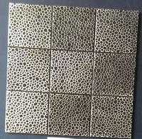 [Mius Art Mosaic] Big square copper mosaic kitchen mosaic A6YB113