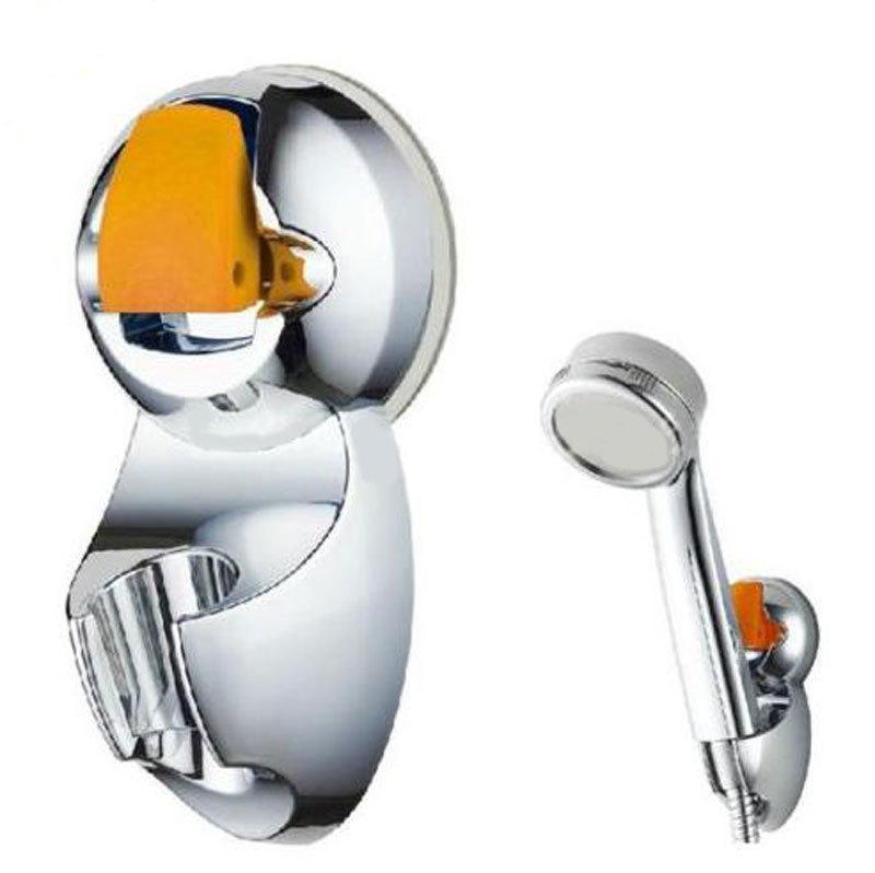 New Practical Adjustable Elegant Sucker Shower Head Stand Bracket Holder For Bathroom #62007(China (Mainland))