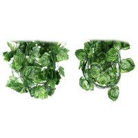 7.7Feet Artificial Faux Ivy Leaf Garland Plants Fake Foliage Decoration Plastic   95624-95628