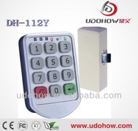 Free shipping LED indicate electronic keypad locker lock 112Y