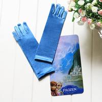 5sets=5*1pair Children girl's baby girl Frozen Elsa blue Gloves & Mittens 90039