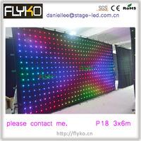 Free shipping 2014 new led curtain cloth/fashion soft led video curtain