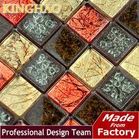 [KINGHAO] Supply Mosaic Wholesale Glass mosaic MIX Stone Marble Wall tile TC2305