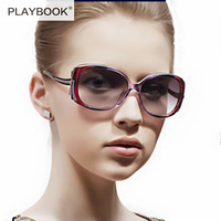 2014 new temperament female polarized sunglasses Fashion RETRO personality female genuine sunglasses free shipping