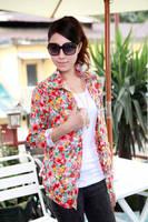 Korean Women 2014 new Slim shirt sk073925