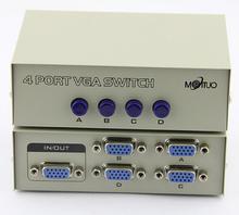4 разъём(ов) VGA адаптер 1 VGA вход 4 VGA из положить руководство VGA адаптер
