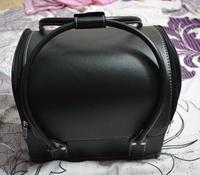 2014 Professional cosmetics bag PU hard case makeup box make-up handbag caixa de maquiagem profissional maleta de maquiagem dura