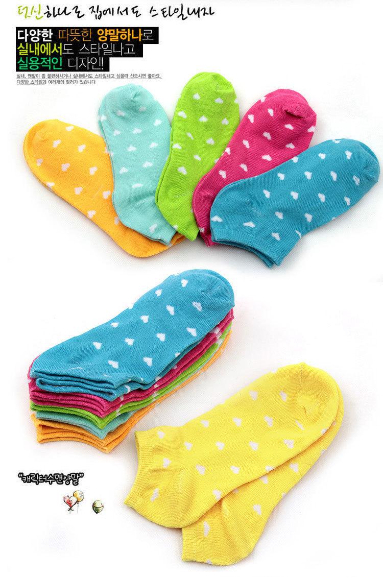 Женская носки хлопок 5 пар/лот зима весна лето и осень женщин с коротким хлопок смесей трубки носок женский носки