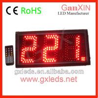 """Led queue system 5"""" new digital clock display"""