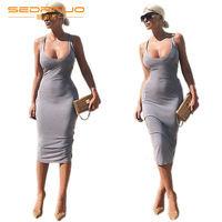 Hot Sale 2014 Women Clothing Ladies Sexy Summer Casual Dress Tank Dress