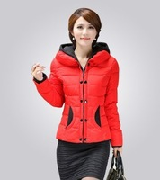 2014 New Arrivel Women Winter Coat Fashion Short Down Jacket for Lady Outerwear Ovecoat Parka YS8720
