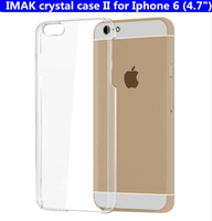 IMAK super wear-resisting crystal case for Iphone 6 (4.7 inch) hard case with real package