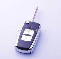 Best quality Hyundai Hyundai 2 buttons flip modified remote key shell with left blade and hyundai i30