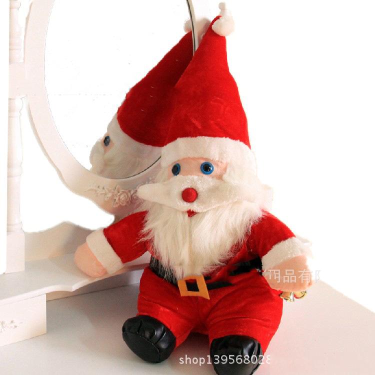 2014 Fashion Christmas Decoration Ornament Cute Lovely Character Snow Man And Santa Claus Christmas Tree Enfeites De Natal(China (Mainland))