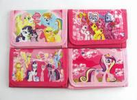 My little pony Wallets Cartoon Children Purse Bags 12*8cm Girls Wallets BRAND NEW Children Christmas Gifts