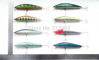2pcs/lot fishing lure 15CM/33G/pcs laser Minnow fishing bait,fishing tackle free shipping
