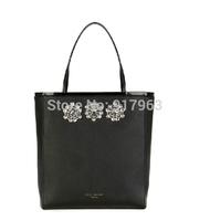 women diamond-encrusted handabg  shopper bag TED Diamante canvas /pu leather  shopping  bags lady fashionshoulder bag