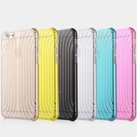 "Luxury Ultra Thin Clear TPU Soft Shell Back Case Cover For Apple 4.7"" For iPhone 6"