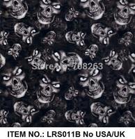 Liquid Image No.LRS011B water transfer printing film Exclusive Skull