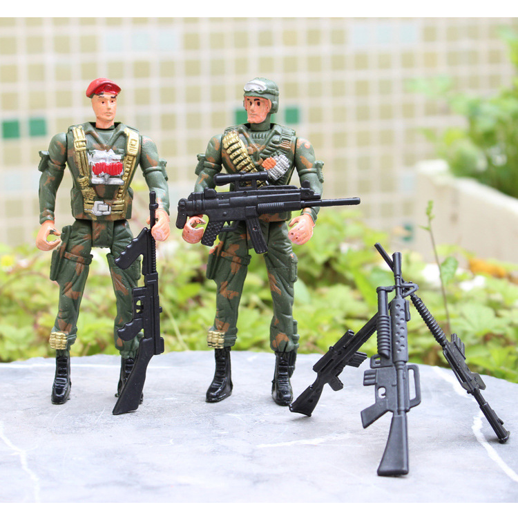 These people with movable 14cm toy soldiers special forces military model simulation of children's Day gifts wholesale(China (Mainland))