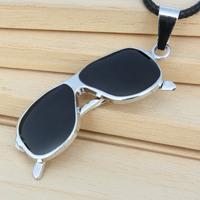 Fashion style fashion cool glasses Yiwu jewelry wholesale mall pendant necklace wholesale Korean jewelry