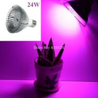 24W E27 220V 9.4*9.8cm 24pcs Led SMD Plants Hydroponic Gardening Flowers Grow Light