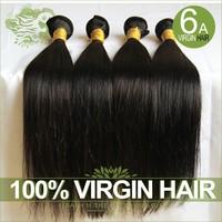 Unprocessed 6A Indian Virgin Hair Straight Human Hair Cheap Indian Remy Hair Extension 3/4Pcs Lot Natural Black Hair Bundles
