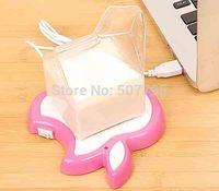 2014 New Portable Coffee Tea Drink Heater Tray Pad USB Electronics Gadgets Novelty Item Powered Cup Mug USB Warmer