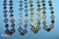 CL323 Link Chain Metal Findings 1Meter