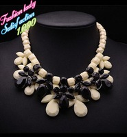 Luxury Fashion Ornate Statement Resign Necklaces For Women 2014 Good Quality Choker Collar Shourouk Jewelry 3841