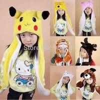 Free shipping 2014 New Chrismas gift Cartoon Lion Animal Hat Warm Winter Children Kids Cap Cartoon hat