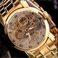 MCE watch fashion hollow out  High-grade mechanical watch Business men watch