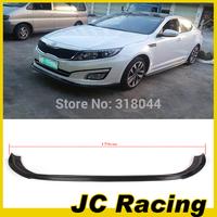 Top quality JC Style K5 Carbon Fiber front bumper lip. Auto Car Front Bumper Lip Spoiler For Kia (Fit K5 Otpima 2013up )