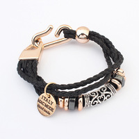 Free Shipping Fashion Charms Wholesale Jewelry Knitter Twist Hollow Bracelet 103942 (Hot selling)