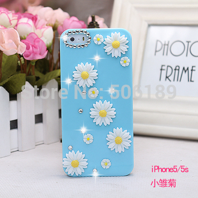 popular phone case,The latest 5s phone case, female diamond phone 5s lovely protect cases,kiss-250(China (Mainland))