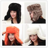Beijing Youth Russian fur hat imitation imitation fox fur hat female Korean influx of Lei Feng hat snow hat locomotive