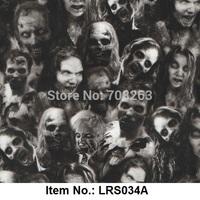 Liquid Image No.LRS034B PVA water transfer printing film Exclusive Skull