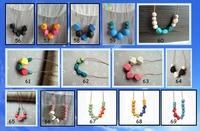 1pc sales geometric necklace 121 designs to choose  minimalist wood jewelry modern trible