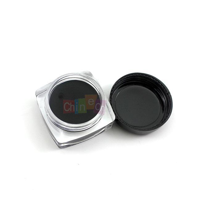 Top Selling 2014 Women Shadow Eyeliner Pro Eye Liner Cosmetic Gel Black Mini Brush Make up Beauty Tools(China (Mainland))