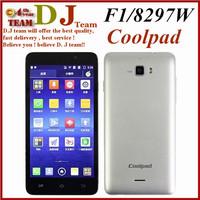 "Coolpad F1 phone 8297w WCDMA Octa Core 8297 MTK6592 Android 4.2 5.0"" HD Gorilla Glass 720P 2G RAM 8GB ROM 8MP GPS Play Store"