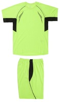 hot sale blank soccer jersey colors plain soccer uniform and shorts full set with fast and free shipping