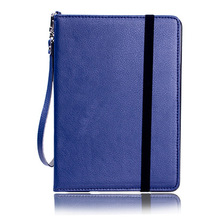 Lanyard Leather Case For Apple Ipad mini 1/2/3 Cases Wallet Stand Design Intelligent Dormancy Back Covers For ipad mini(China (Mainland))