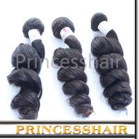 Free Shipping No Chemical Process Wavy Hair 6a Grade Virgin Hair 5pcs Wholesale Peruvian Loose Wave Weaving