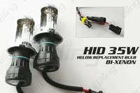 Free Shipping!! 35W DC Bi-Xenon HID Replacement LOW BEAM Headlight Kit 8000k H13-3 Iceberg Blue