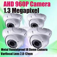 Ultra High Definition 1.3 Megapixel Analgo CCTV Camera 36 IR Leds Manual Zoom lens 1280*960P HD AHD Security Camera